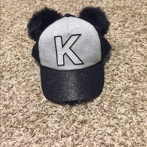 "Justice ""K"" panda ears hat"